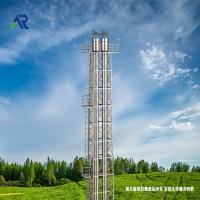 北京双层不锈钢烟囱施工案例